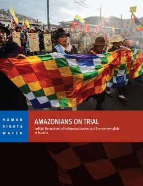 Amazonians on trial