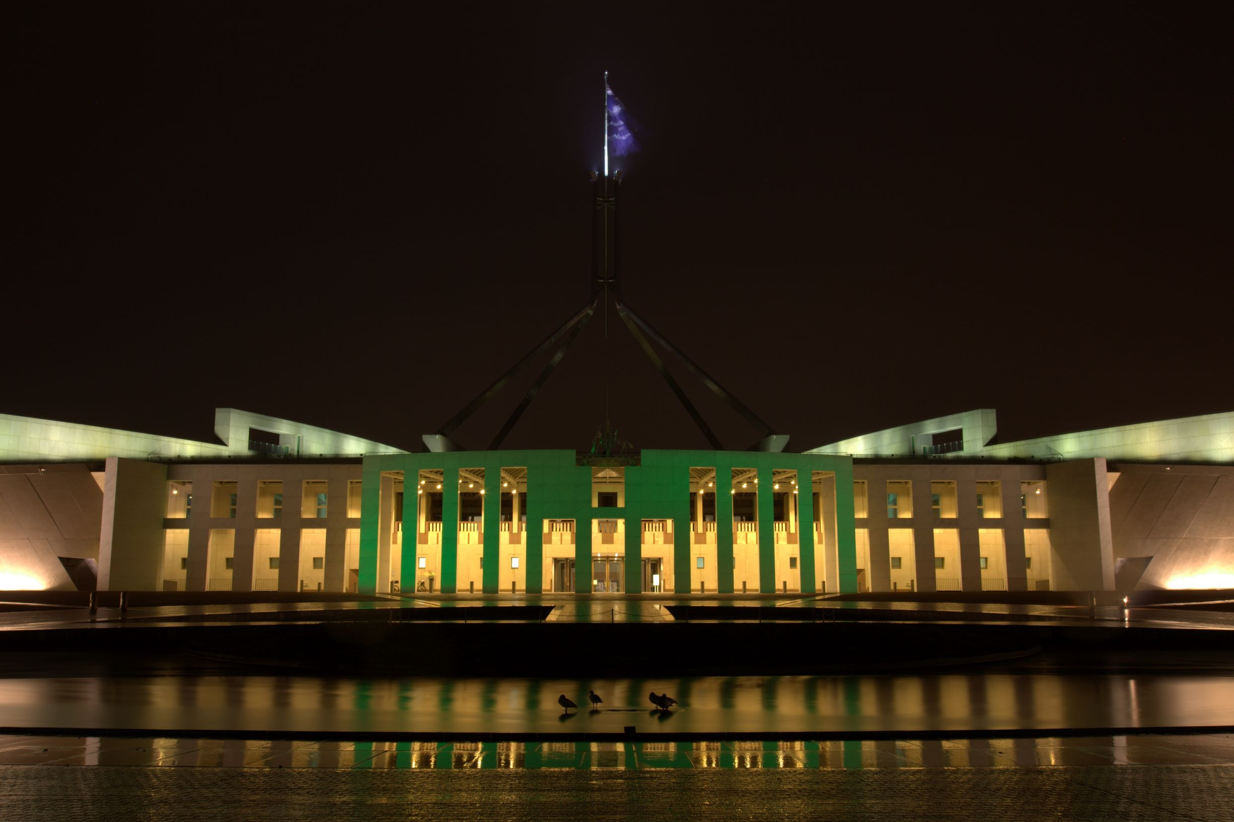 Photo of Australia Parliament House at Night