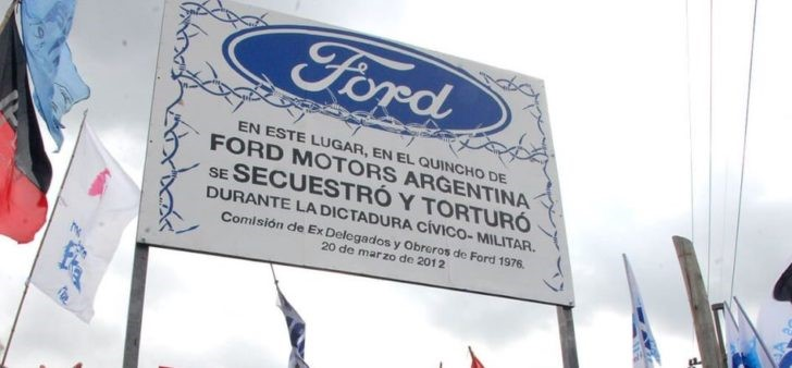Caso Ford Argentina