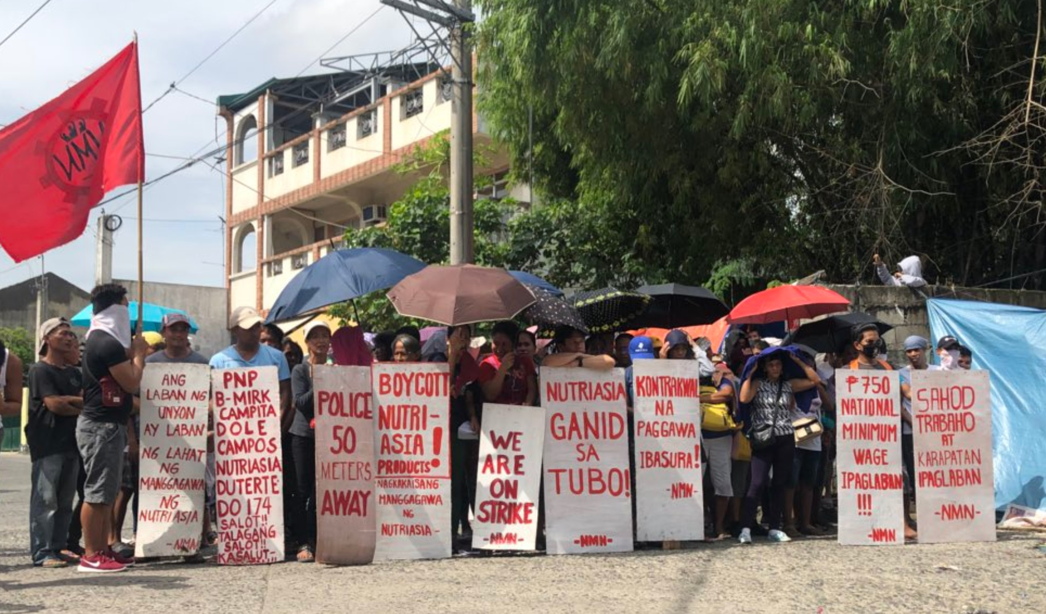 Philippines: Workers at NutriAsia factory face lawsuits and suffer