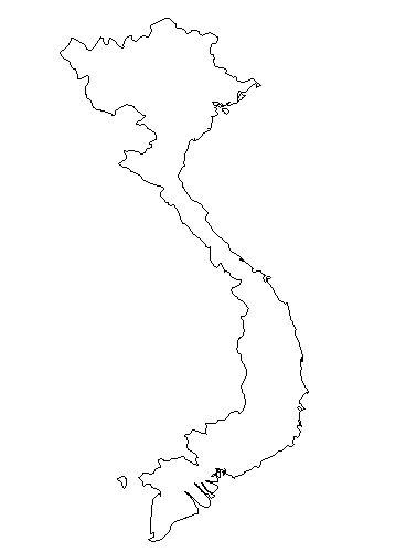 Vietnam Business Human Rights Resource Centre - Vietnam map outline