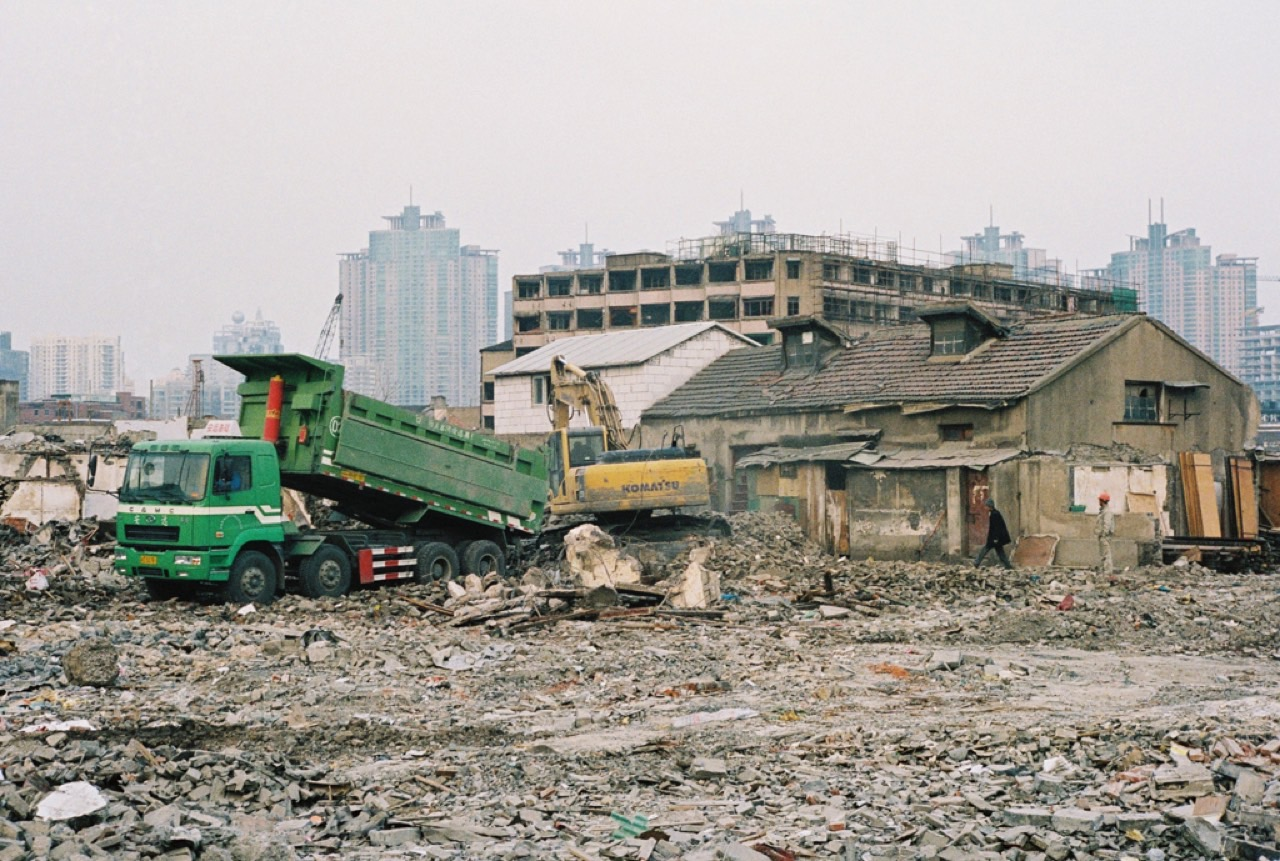 Demolition in China (courtesy of Leniners on Flickr)