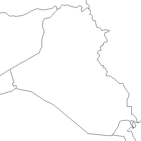 Iraq-outline-map-credit-Matt-Rosenberg-About.com-geography