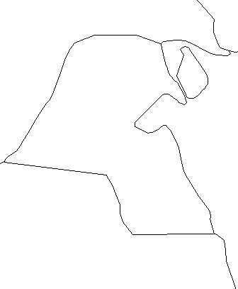 Kuwait-outline-map-credit-Matt-Rosenberg-About.com-geography