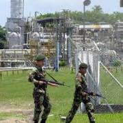 Indonesia troops guard ExxonMobil