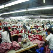 Women in garment factory
