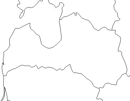 Latvia-outline-map-credit-Matt-Rosenberg-About.com-geography