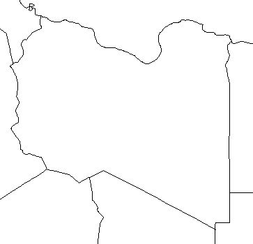 Libya-outline-map-credit-Matt-Rosenberg-About.com-geography