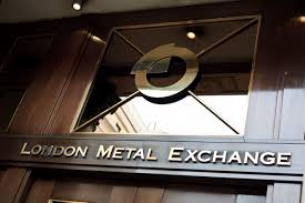 Entrance of the London Metal Exchange