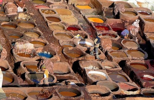 Tenneries-Morocco