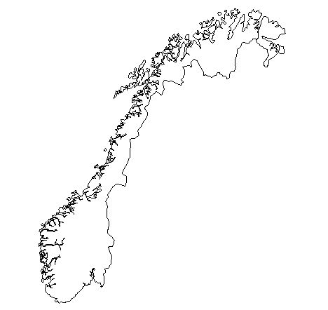 Norway-outline-map-credit-Matt-Rosenberg-About.com-geography