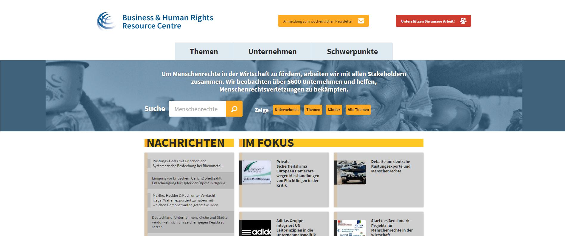 Startschuss für unsere neue deutschsprachige Website