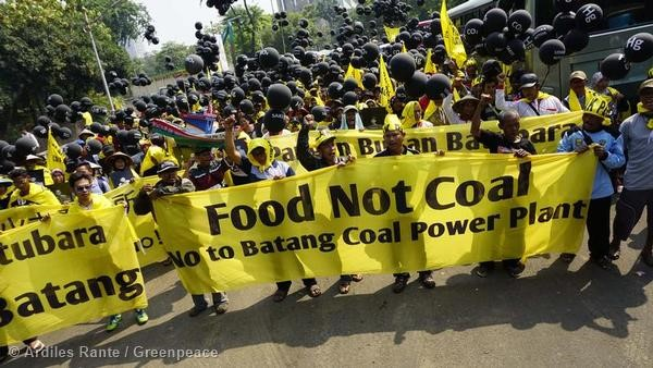 batang indonesia community protest credit Ardiles Rante  Greenpeace