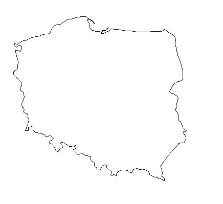 Poland-outline-map-credit-Matt-Rosenberg-About.com-geography