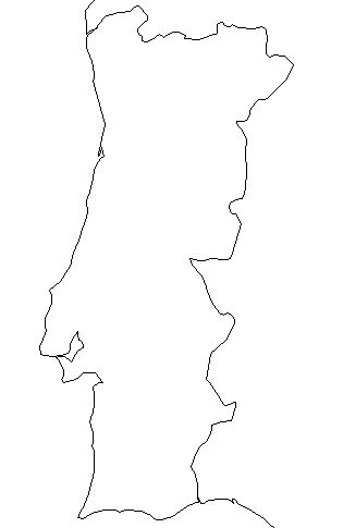 Portugal-outline-map-credit-Matt-Rosenberg-About.com-geography