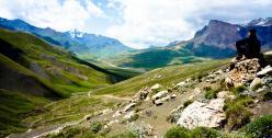 Azerbaijan landscape by Matthew Hadley