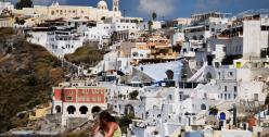 Greece Santorini by Mstyslav Chernov