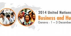 Register for 2014 UN Forum on Business and Human Rights