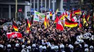 """Germany anti-refugee protest"", by Aban News licensed under YouTube."