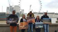 Image: Brazil activists in London last November