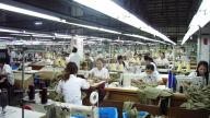 Garment factory Cambodia - photo by Lowell Chow
