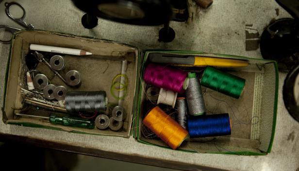 At a Garment's Factory in Delhi - photo credit:  Ishan Khosla (via flickr)