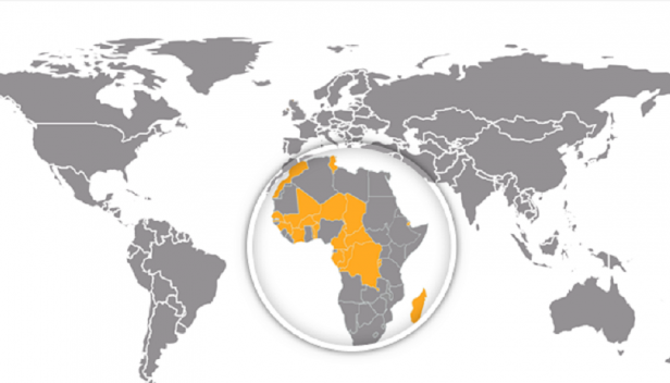 Francophone Africa Map.Rights Extracted Toward Transparency Respect For Human Rights In