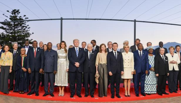 """""""Group photo G7 2017"""" BY Italian Presidency of the Council of Ministers licensed under CC BY 3.0 IT."""