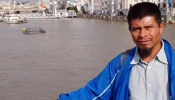 Domingo Vázquez Ramírez in London (credit: PBI UK)