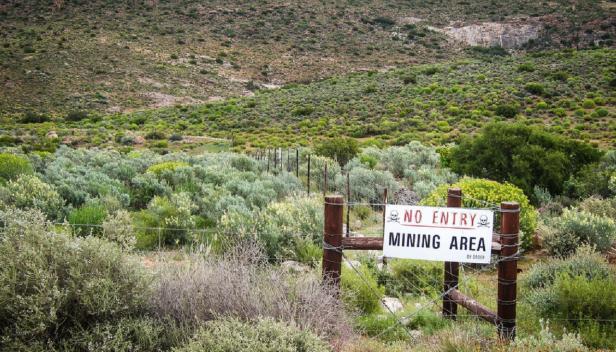 Wollastonite mine near Garies, South Africa