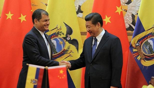 President Xi in Ecuador