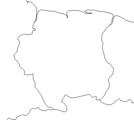 suriname-outline-map-credit-Matt-Rosenberg-About.com-geography