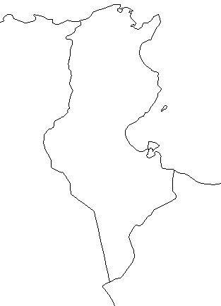 Tunisia-outline-map-credit-Matt-Rosenberg-About.com-geography