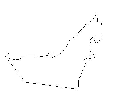 United Arab Emirates-outline-map-credit-Matt-Rosenberg-About.com-geography