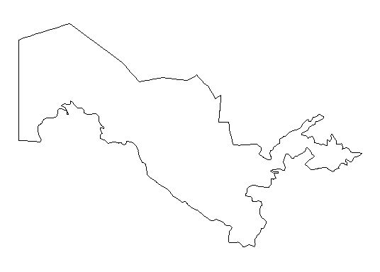 Uzbekistan-outline-map-credit-Matt-Rosenberg-About.com-geography