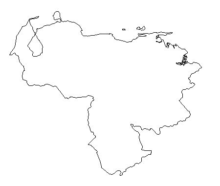 venezuela-outline-map-credit-Matt-Rosenberg-About.com-geography