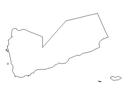 Yemen-outline-map-credit-Matt-Rosenberg-About.com-geography